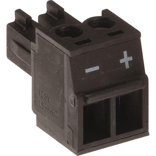 Axis Communications Connector A 2-Pin 3.81mm Straight 5800-901