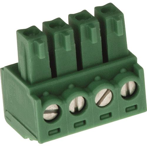 Axis Communications Connector A 4-Pin 3.81mm Straight 5505-251