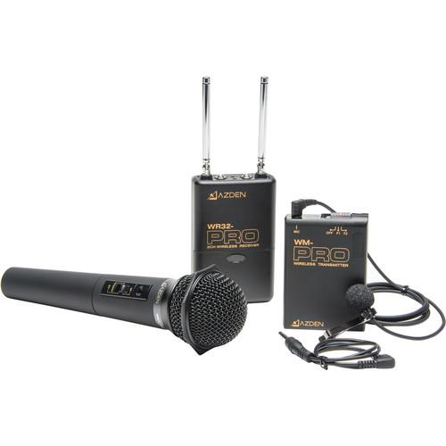 Azden Pro Series Dual-Channel VHF Wireless Kit WDM-PRO