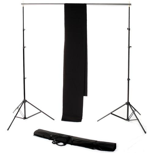Backdrop Alley Studio Kit with Stand and 10 x 12' STDKT-12B