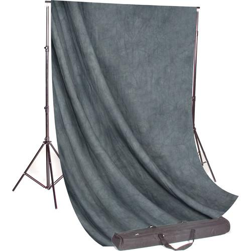 Backdrop Alley Studio Kit with Stand and 10 x 24' STDKT-24GM
