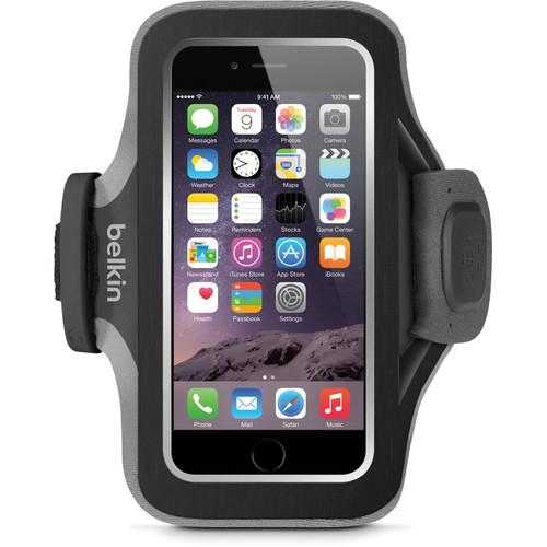 Belkin Slim-Fit Plus Armband for iPhone 6/6s (Black) F8W499BTC00