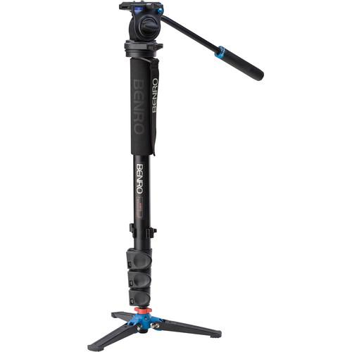 Benro A38FDS2 Series 3 Aluminum Monopod with 3-Leg A38FDS2