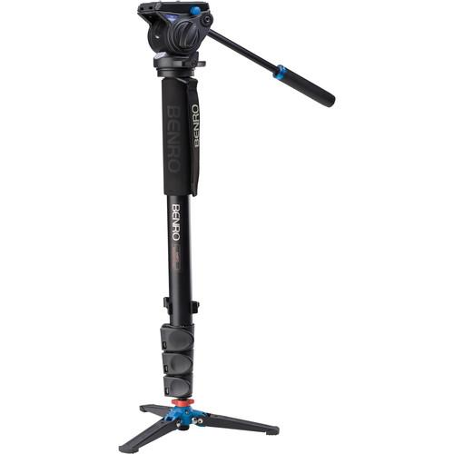 Benro A48FDS4 Series 4 Aluminum Monopod with 3-Leg A48FDS4