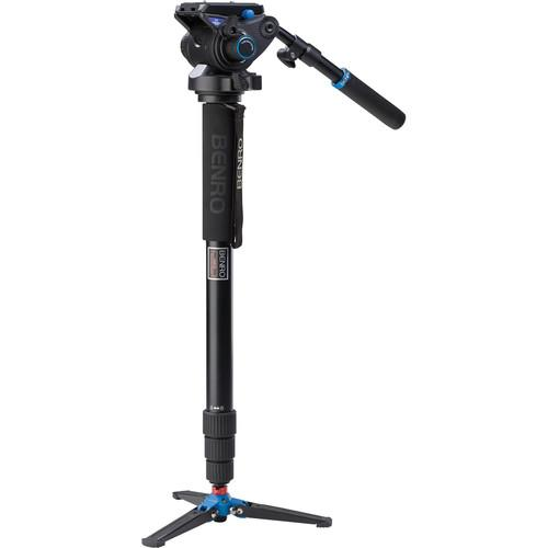 Benro A48TDS6 Series 4 Aluminum Monopod with 3-Leg A48TDS6