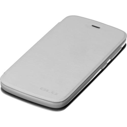 BLU Flip Case for Life Play L100A (White) 8-BLU-FCASELPLAY-WHT