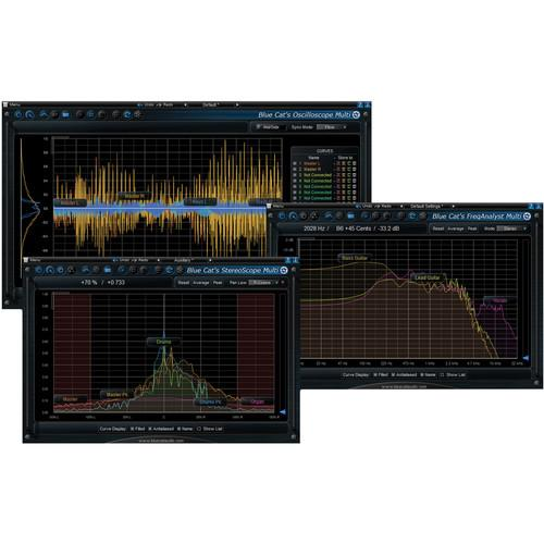 Blue Cat Audio Multi Pack Multiple Track Analysis 11-31230