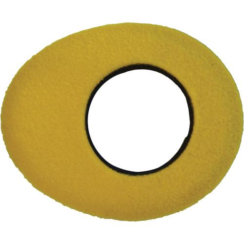 Bluestar Oval Large Fleece Eyecushion (Yellow) 90162