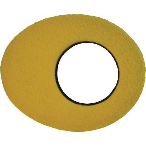 Bluestar Oval Small Fleece Eyecushion (Yellow) 90170