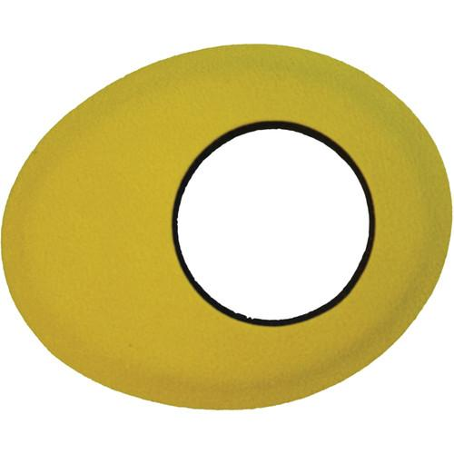 Bluestar Oval Small Microfiber Eyecushion (Yellow) 90167