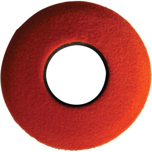 Bluestar Round Extra Small Fleece Eyecushion (Orange) 20114