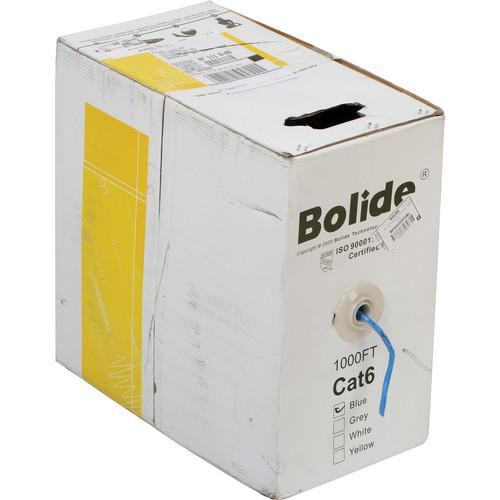 Bolide Technology Group BP0033 Cat6 CCA Twisted BP0033/CAT6-BLUE