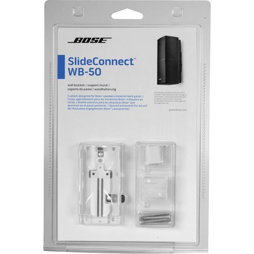 Bose SlideConnect WB-50 Wall Bracket (White) 716402-0020