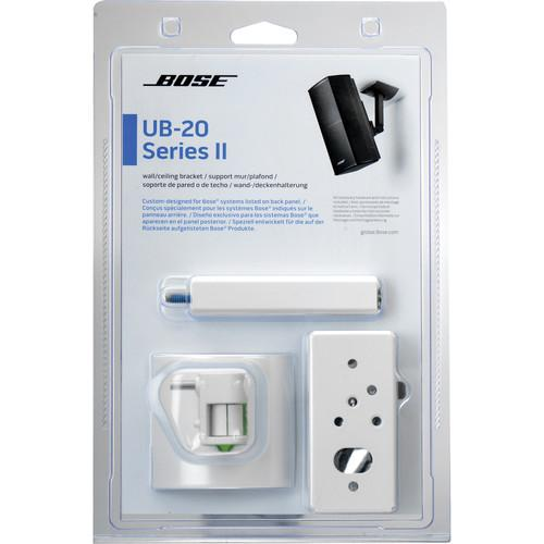 Bose UB-20 Series II Wall/Ceiling Bracket (White) 722141-0020