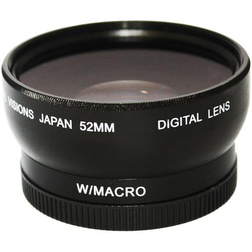 Bower Pro HD 0.45x Wide-Angle Conversion Lens for 52mm VLC4552B