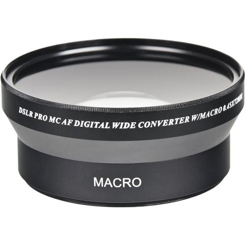 Bower Pro HD 0.45x Wide-Angle Conversion Lens for 72mm VLC4572B