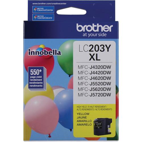 Brother LC203Y Innobella High Yield XL Series Yellow Ink LC203Y