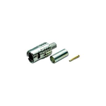 Canare 3-Piece Slim BNC Connector for Belden 1189A and MBCPC5F
