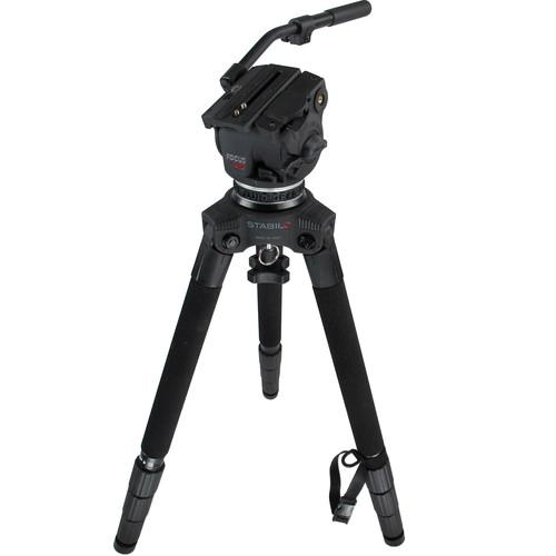 Cartoni Focus Head 125 & STABILO Tripod Legs with Bag F135