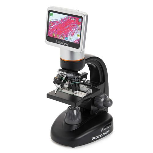 Celestron TETRAVIEW 5MP Digital Microscope with 180� 44347