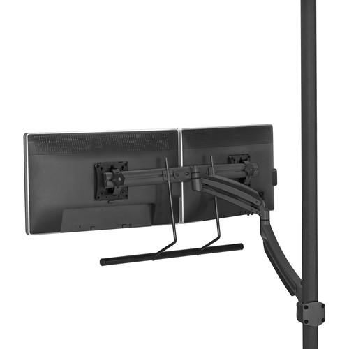 Chief Kontour K1P Dynamic Pole Mount with Dual Monitor K1P22HB