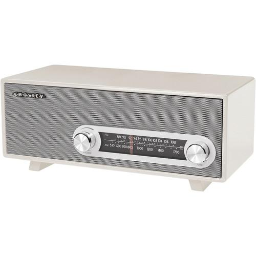 Crosley Radio CR3022A-WH Ranchero Tabletop Radio CR3022A-WH