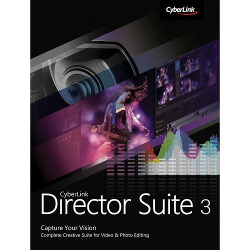 CyberLink Director Suite 3 Software Bundle (DVD)