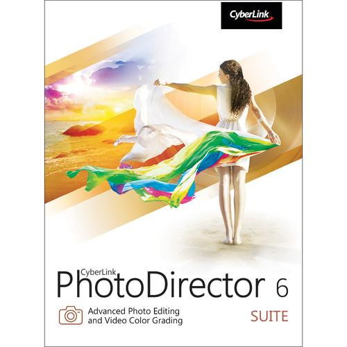 CyberLink PhotoDirector 6 Suite (Download) PHS-0600-IWU0-00
