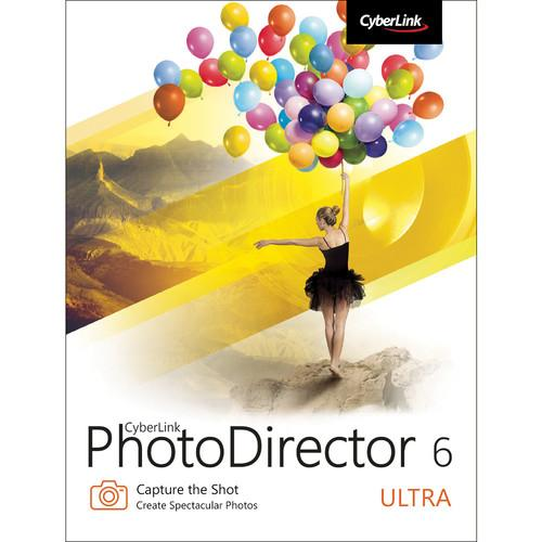 CyberLink PhotoDirector 6 Ultra (Download) PTD-0600-IWU0-00