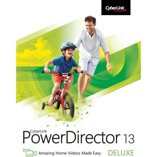 CyberLink PowerDirector 13 Deluxe (Download) PDR-0D00-IWX0-00