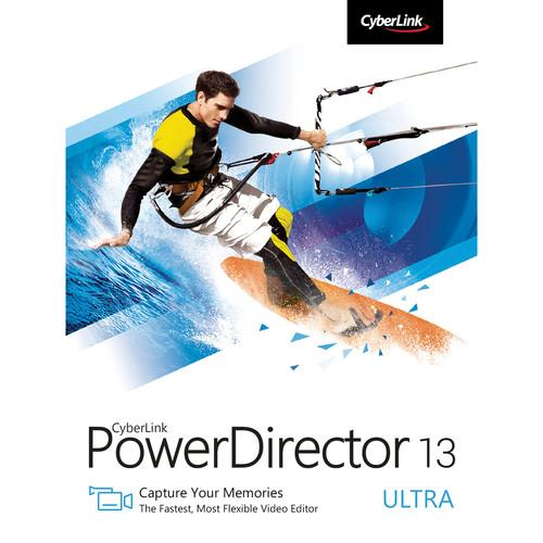 CyberLink PowerDirector 13 Ultra (Download) PDR-0D00-IWU0-00