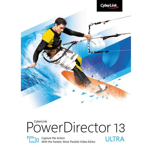 CyberLink PowerDirector 13 Ultra (DVD) PDR-ED00-RPU0-00