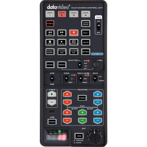 Datavideo MCU-100S Handheld Camera Controller for Sony MCU-100S