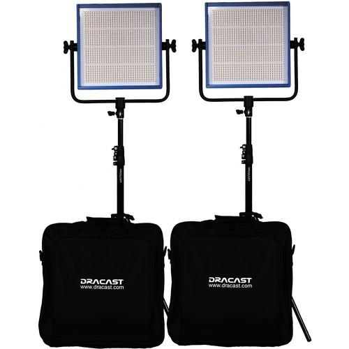 Dracast Dracast LED1000 Pro Daylight 2-Light Kit DR-LK-2X1000-DV