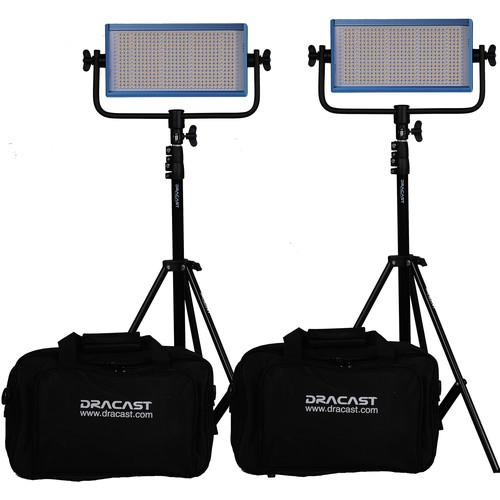Dracast Dracast LED500 Pro Bi-Color LED 2-Light DR-LK-2X500-BG