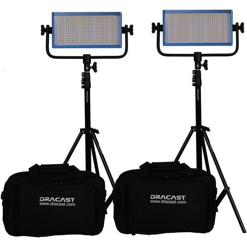 Dracast Dracast LED500 Pro Bi-Color LED 2-Light DR-LK-2X500-BV