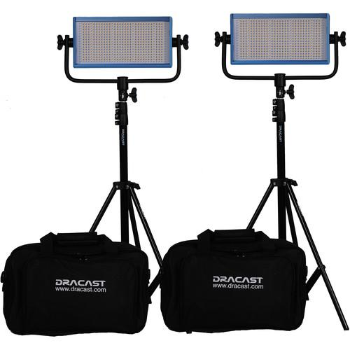 Dracast Dracast LED500 Pro Daylight LED 2-Light DR-LK-2X500-DV