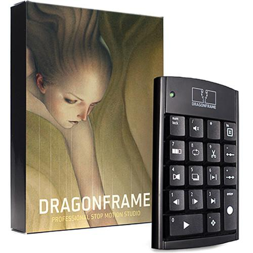 Dragonframe Dragonframe 3 Stop Motion Software with Keypad DF3