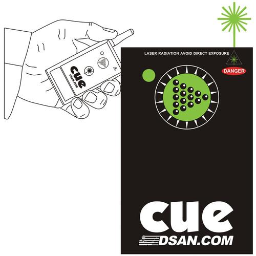 DSAN Corp. 2-Button Wireless Transmitter with Green PC-AS-2-GRN
