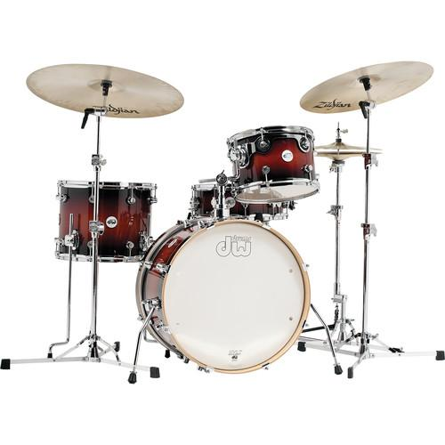 DW DRUMS Design Series Frequent Flyer Drum Kit DDLG2004TB