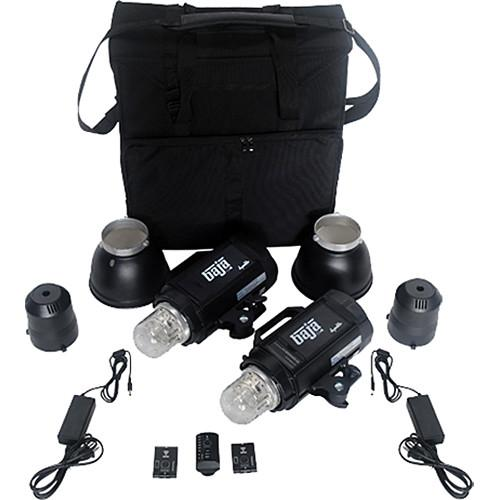 Dynalite Baja B4 Battery Powered 2-Monolight Kit BK4-2200B