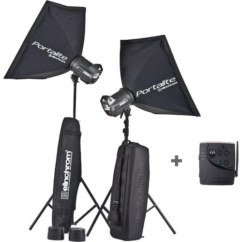 Elinchrom BRX 250 2x Monolights To Go Kit EL20756.2