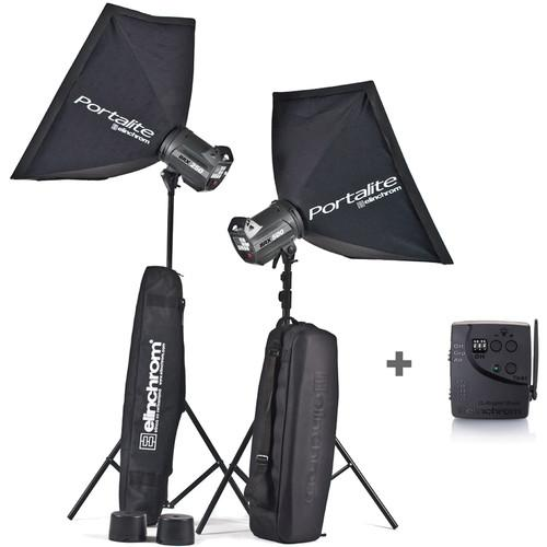 Elinchrom BRX 250 and BRX 500 Monolights To Go Kit EL20757.2