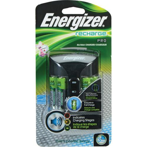 Energizer Recharge Pro Charger for AA and AAA NiMH CHPROWB4