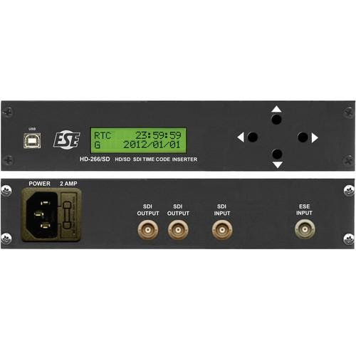 ESE HD-266/SD/1/P2/UL SDI Side-by-Side Rack HD-266/SD/1/P2/UL
