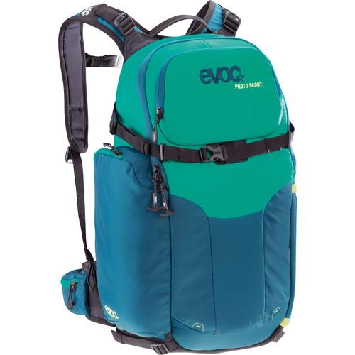 Evoc Photo Scout Backpack (Petrol Green) EVPSCOUT-PTG