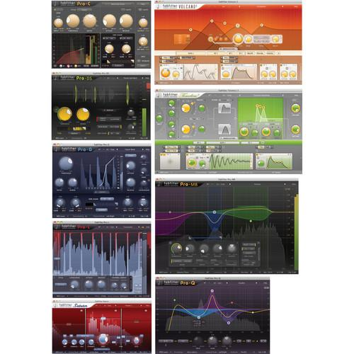 FabFilter  FX Bundle 11-30165