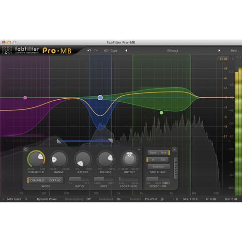 FabFilter Pro-MB Multiband Dynamics Plug-In 11-30170