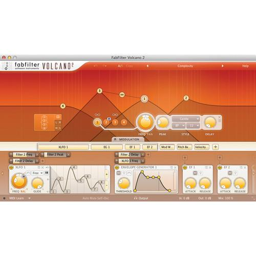 FabFilter  Volcano 2 Software Plug-In 11-30179