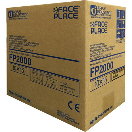 FACEPLACE  FP2000 Roll Media (5-Pack) FP2000-C